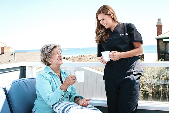 Amada Senior Care - ADLs Bathing